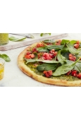 PIZZA PESTO CON SPINACI